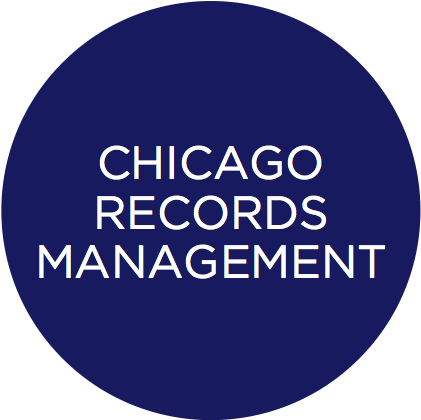 chicago records circle icon